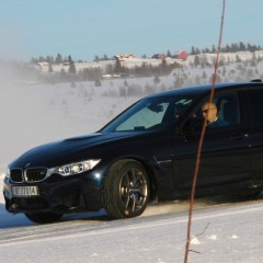 Fuld fart på is med BMW Winter Experience