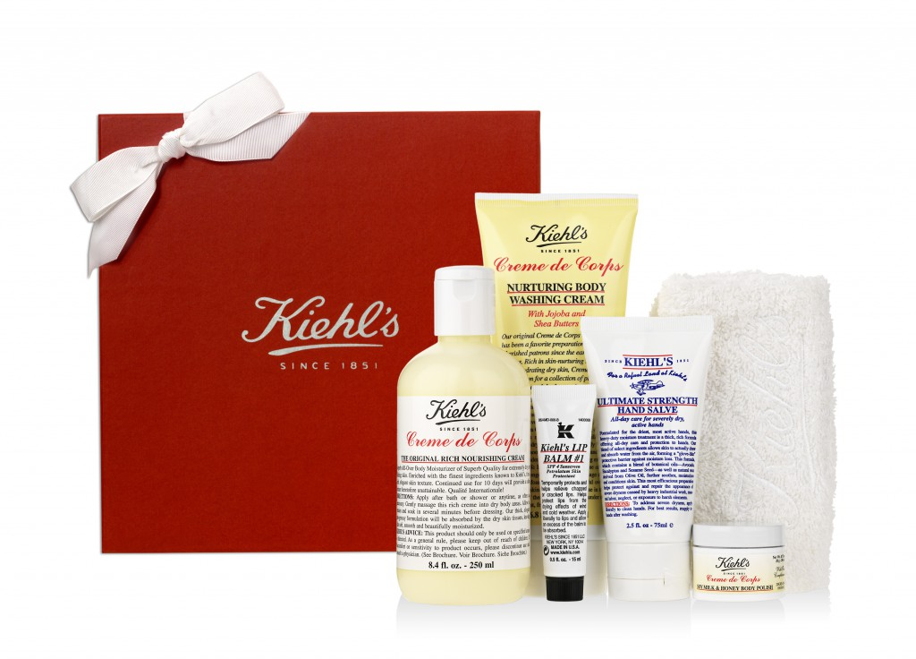 Kiehls gift box w. products