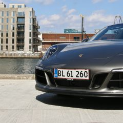 The rush, Porsche 911 Targa 4 GTS