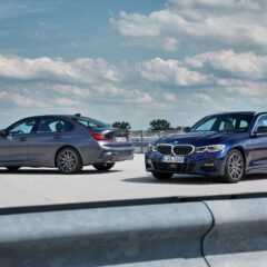 Variationer over en klassiker, BMW 3 Touring og 330e