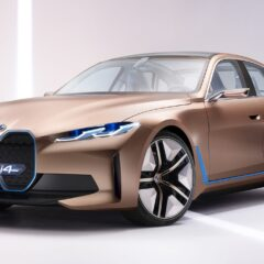 Skarp elektrisk Grand Coupé i 2021, BMW i4
